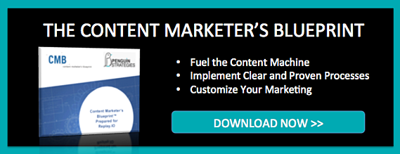 Learn about the Content Marketer's Blueprint
