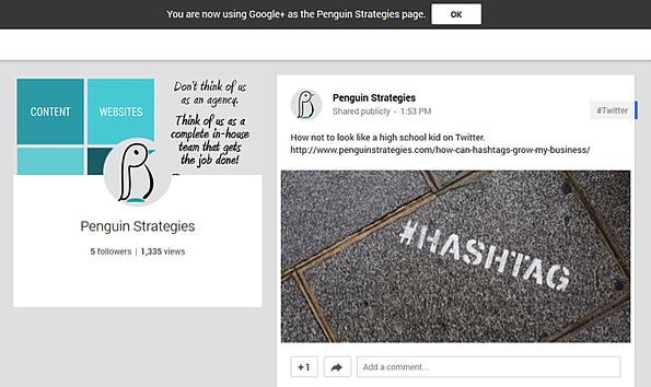 Google Plus for B2B