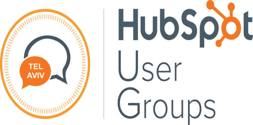 HubSpot User Groups Come to Tel Aviv – Free Hugs!