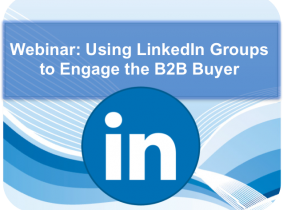 Webinar  using linkedin