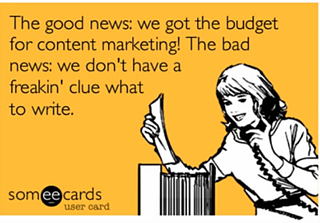 Content marketing dilemma