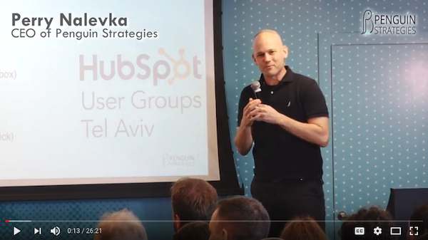 Perry Nalevka speaking at HUG
