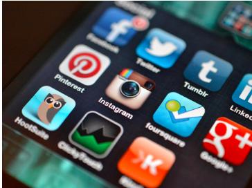 Social Media Icons Penguin Strategies