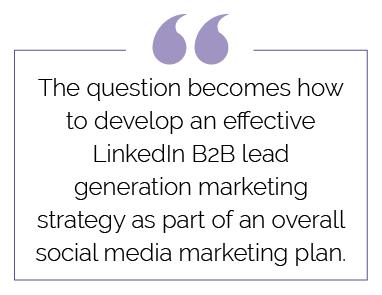 linkedin B2B strategy