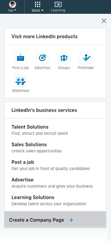 set up your LinkedIn Company Profile