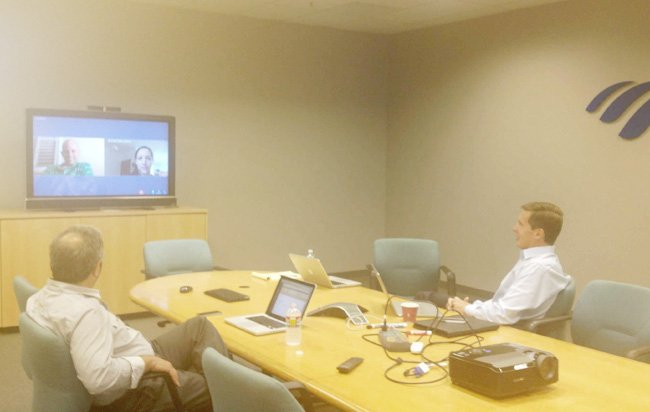 A Tale of 2 Video Conferences