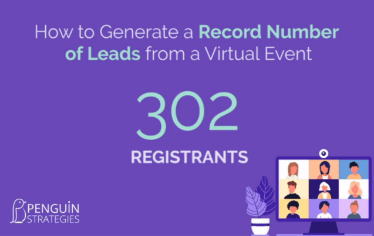 How to Generate a Record Number of Leads from a Virtual Event