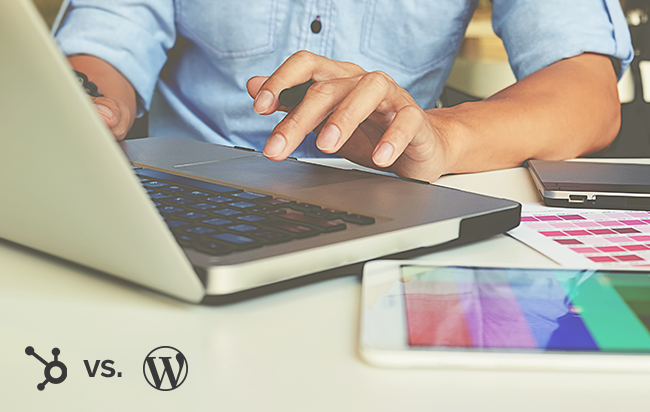 HubSpot vs. WordPress: Web Design Made Simple